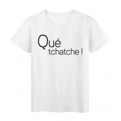 T-Shirt imprimé Marseillais qué tchatch