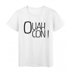 T-Shirt imprimé Marseillais ouah con