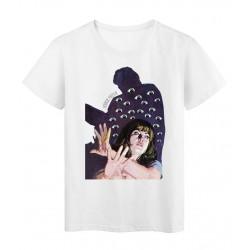 T-Shirt Collage d'élia vintage horreur Série limitée qualité supérieur