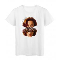 T-Shirt Collage vintage scully artiste Série limitée qualité supérieur