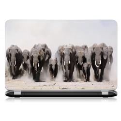 Stickers Autocollants ordinateur portable PC elephant