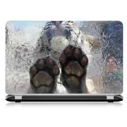 Stickers Autocollants ordinateur portable PC tigre