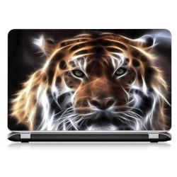 Stickers Autocollants ordinateur portable PC tigre ref 578