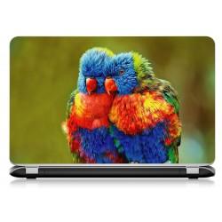 Stickers Autocollants ordinateur portable PC perroquet