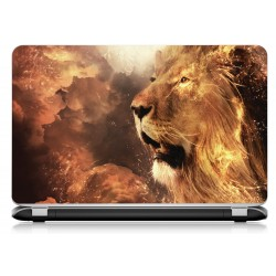 Stickers Autocollants ordinateur portable PC Lion
