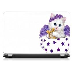 Stickers Autocollants ordinateur portable PC chat ref 605