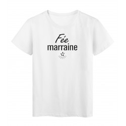 T-Shirt imprimé citation Fée marraine