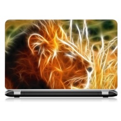 Stickers Autocollants ordinateur portable PC lion