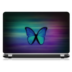 Stickers Autocollants ordinateur portable PC papillon ref 728