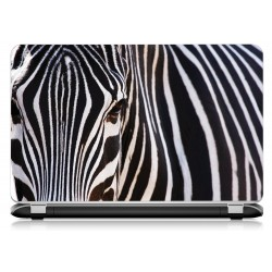 Stickers Autocollants ordinateur portable PC zebre