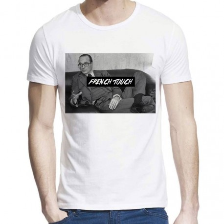 T-Shirt Jacques Chirac french touch ref 817