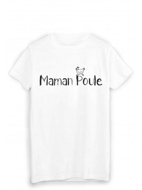 T-Shirt imprimé maman poule ref 1802