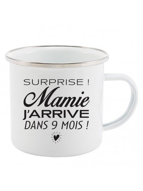 Juniwords Emaille-Tasse non simplement non Drôle Drôle Fun Humour plaisir